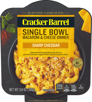 Sharp Cheddar Single Bowl