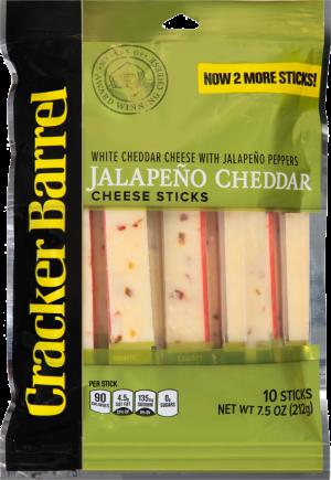 Jalapeño White Cheddar Cheese Sticks