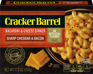 Sharp Cheddar & Bacon Macaroni & Cheese