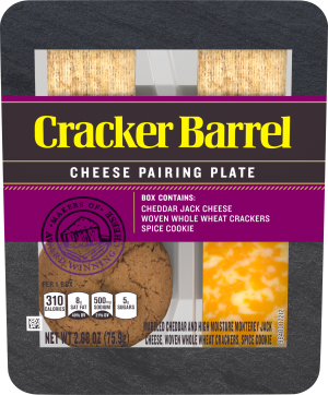Cheddar Jack, Woven Whole Wheat Crackers & Spice Cookie