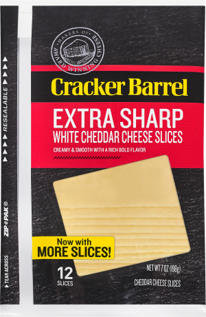 Extra Sharp White Cheddar Slices