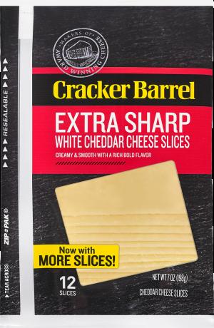 Extra Sharp White Cheddar Slices