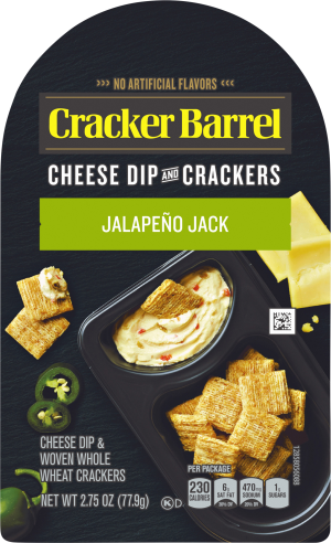 Jalapeño Jack Cheese Dip & Crackers
