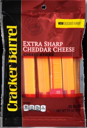 Extra Sharp Yellow Cheddar Cheese Sticks