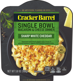 Sharp White Cheddar Single Bowl