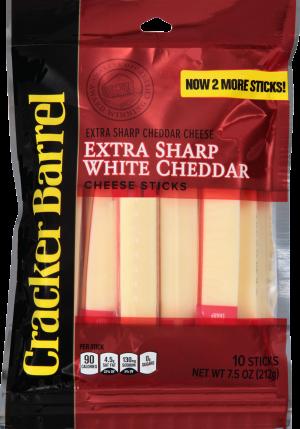 Extra Sharp White Cheddar Cheese Sticks