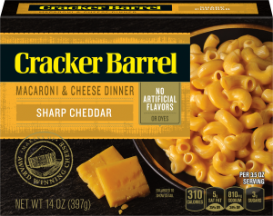 Sharp Cheddar Macaroni & Cheese