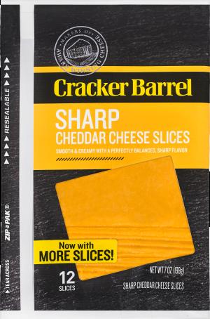 Sharp Cheddar Slices