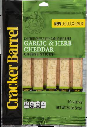Garlic & Herb Cheddar Cheese Sticks