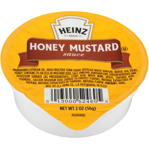 HEINZ Single Serve Honey Mustard, 2 oz. Cups (Pack of 60) image