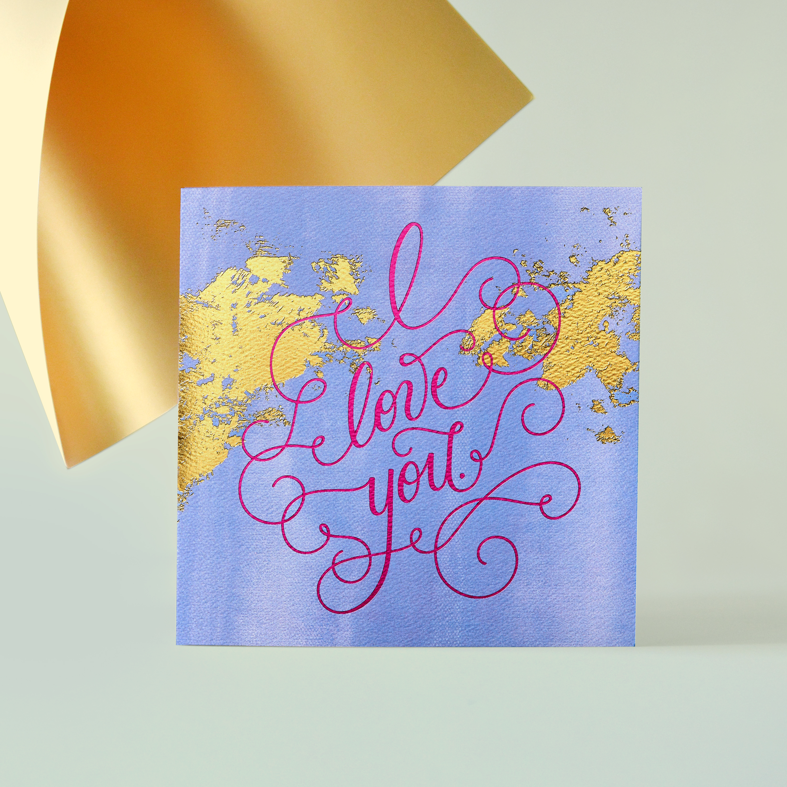 Love You Greeting Card - Romantic, Anniversary, Thinking of You image