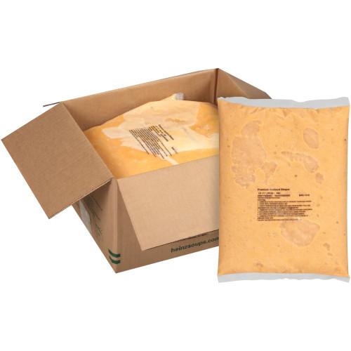 HEINZ TRUESOUPS Premium Seafood Bisque Soup, 4 lb. Bag (Pack of 4)