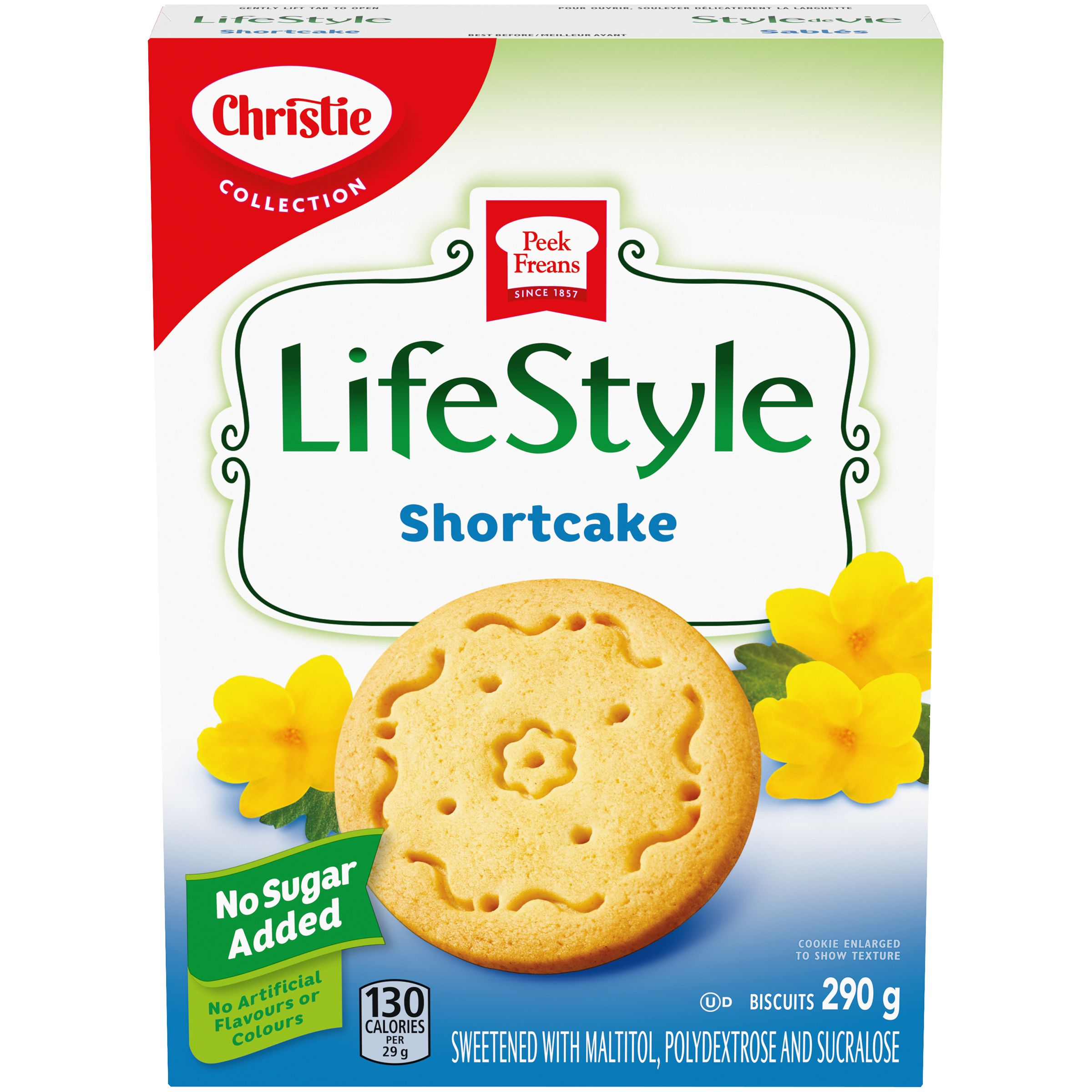 Peek Freans Lifestyle Selections Shortcake Cookies 290 G