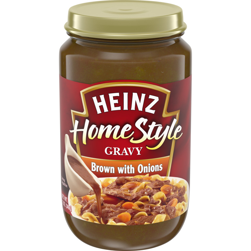 Heniz(r) Home Style Brown with Onions Gravy 12 oz. Box