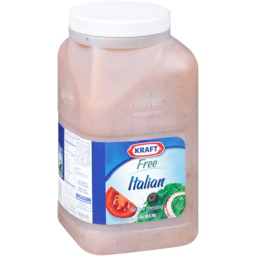 KRAFT Bulk Fat-Free Italian Island Salad Dressing, 1 gal. Jug (Pack of 4)