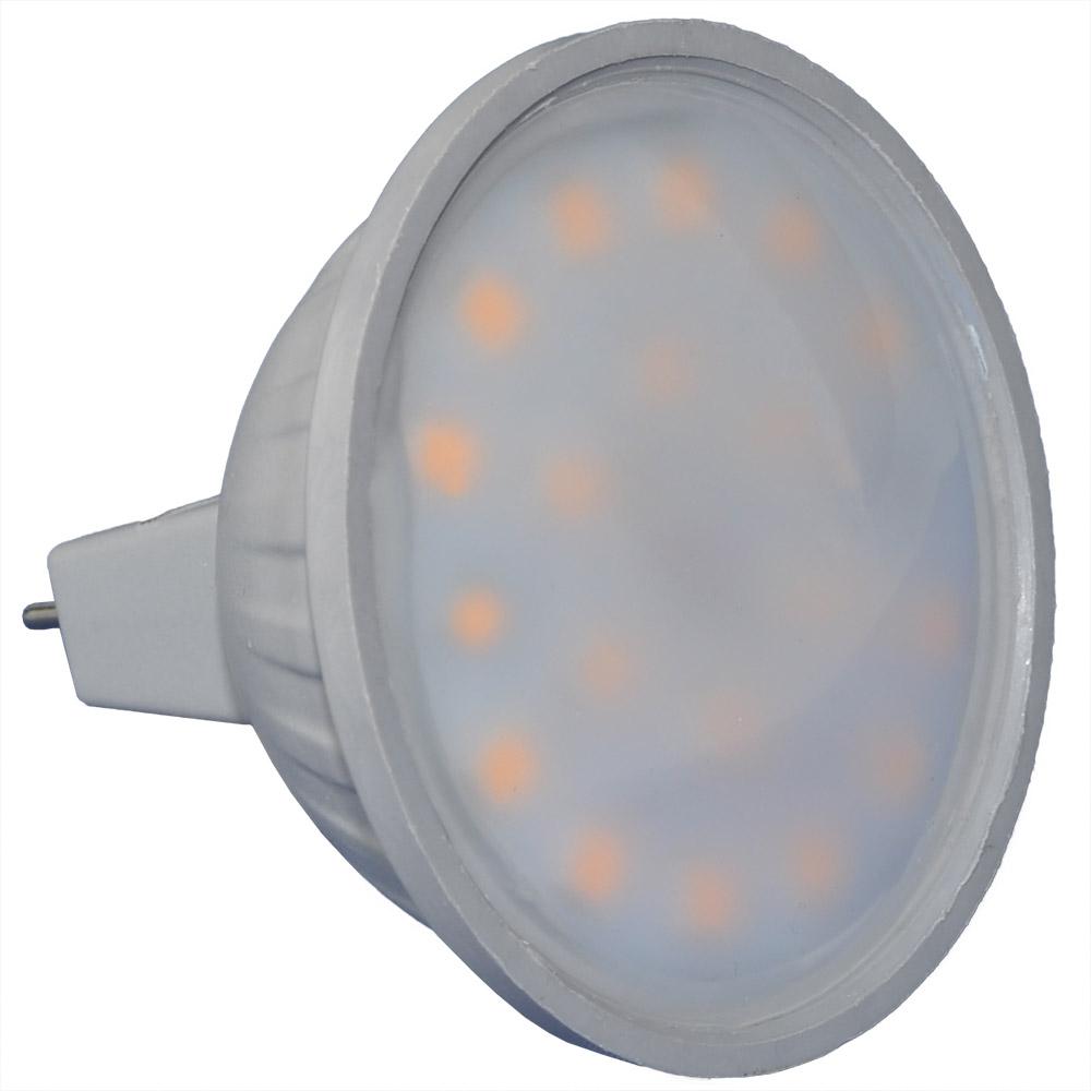 Cartridge Shop 3.5W MR16 LED Spotlight Bulb 250 Lumen (25W Equivalent) Extra Wide Beam Angle - Warm White