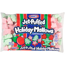 JET-PUFFED HolidayMallows Seasonal Marshmallows 8oz Bag