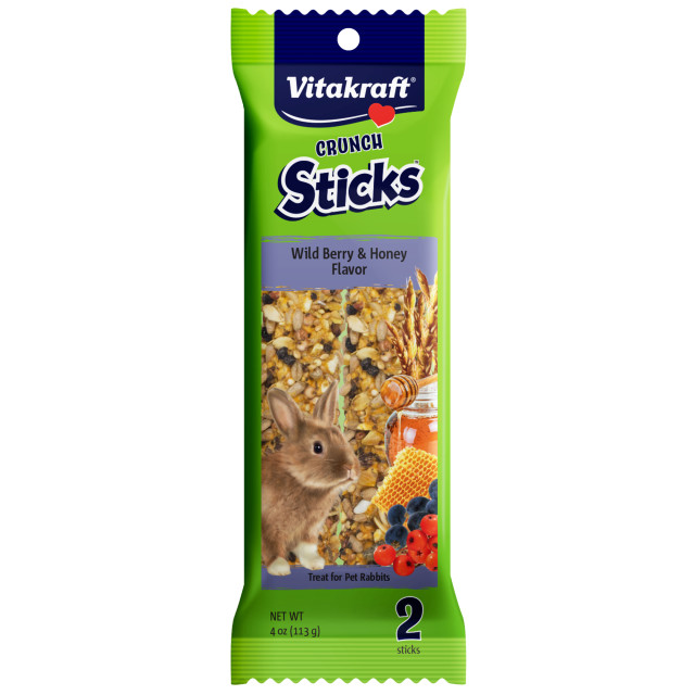Product-Image showing Crunch Sticks Wild Berry & Honey Flavor