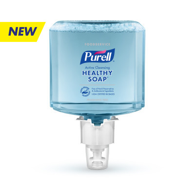 PURELL® Foodservice HEALTHY SOAP® Active Cleansing Fragrance Free Foam