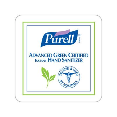 Dispenser Label - PURELL® Advanced Green Certified Instant Hand Sanitizer
