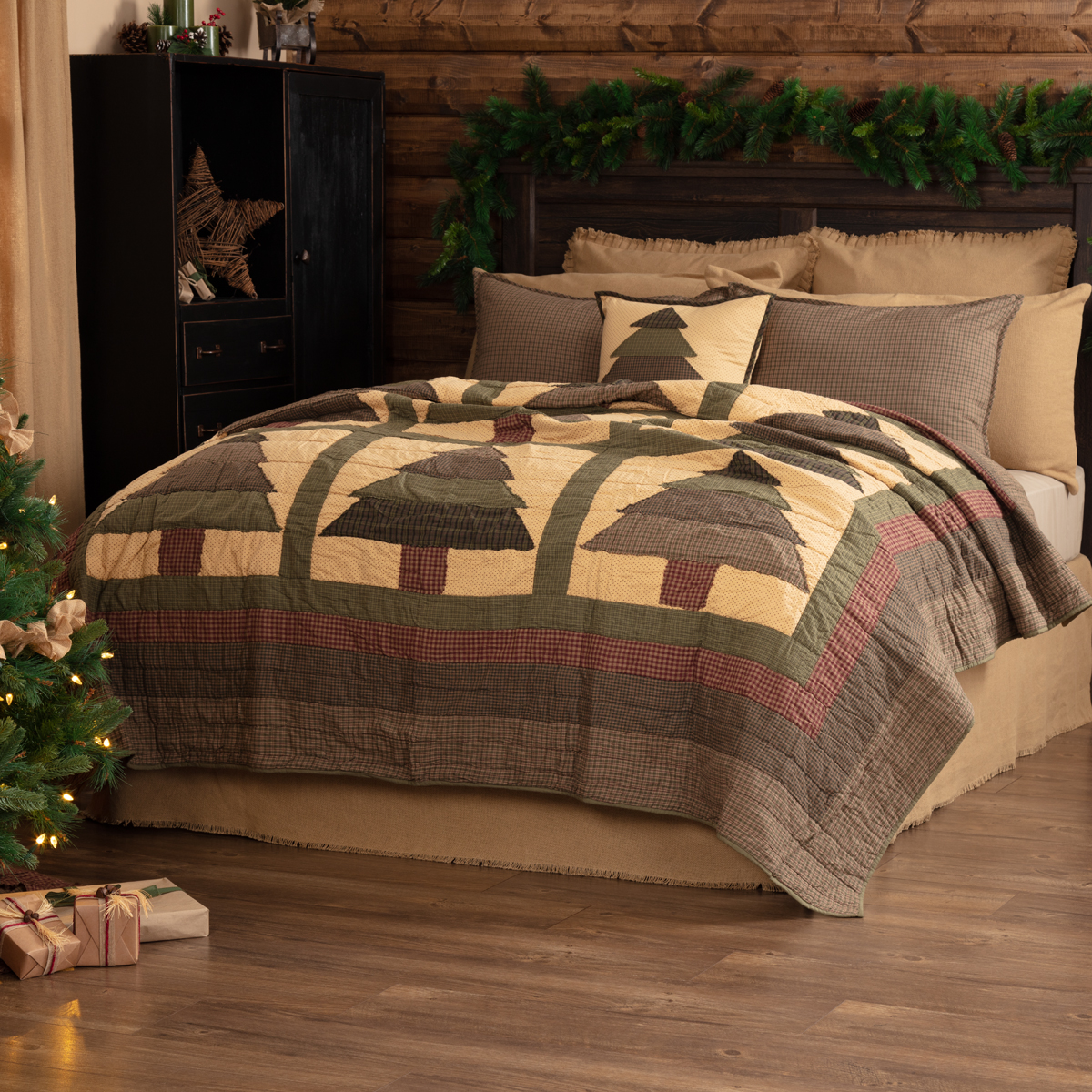 Sequoia King Quilt 105Wx95L