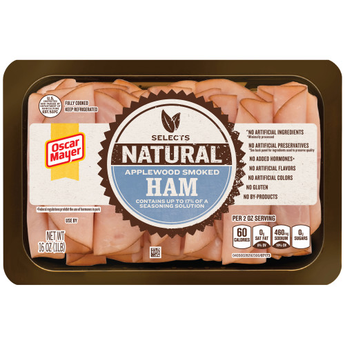 OSCAR MAYER Selects Applewood Smoked Ham 16oz Tray