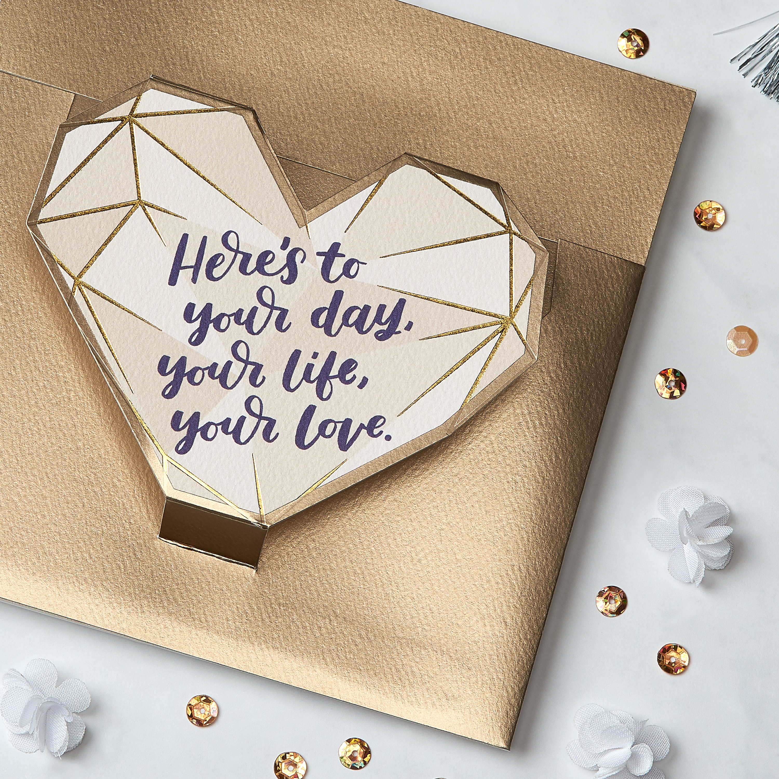 Your Day Greeting Card for Couple - Engagement, Wedding, Anniversary image