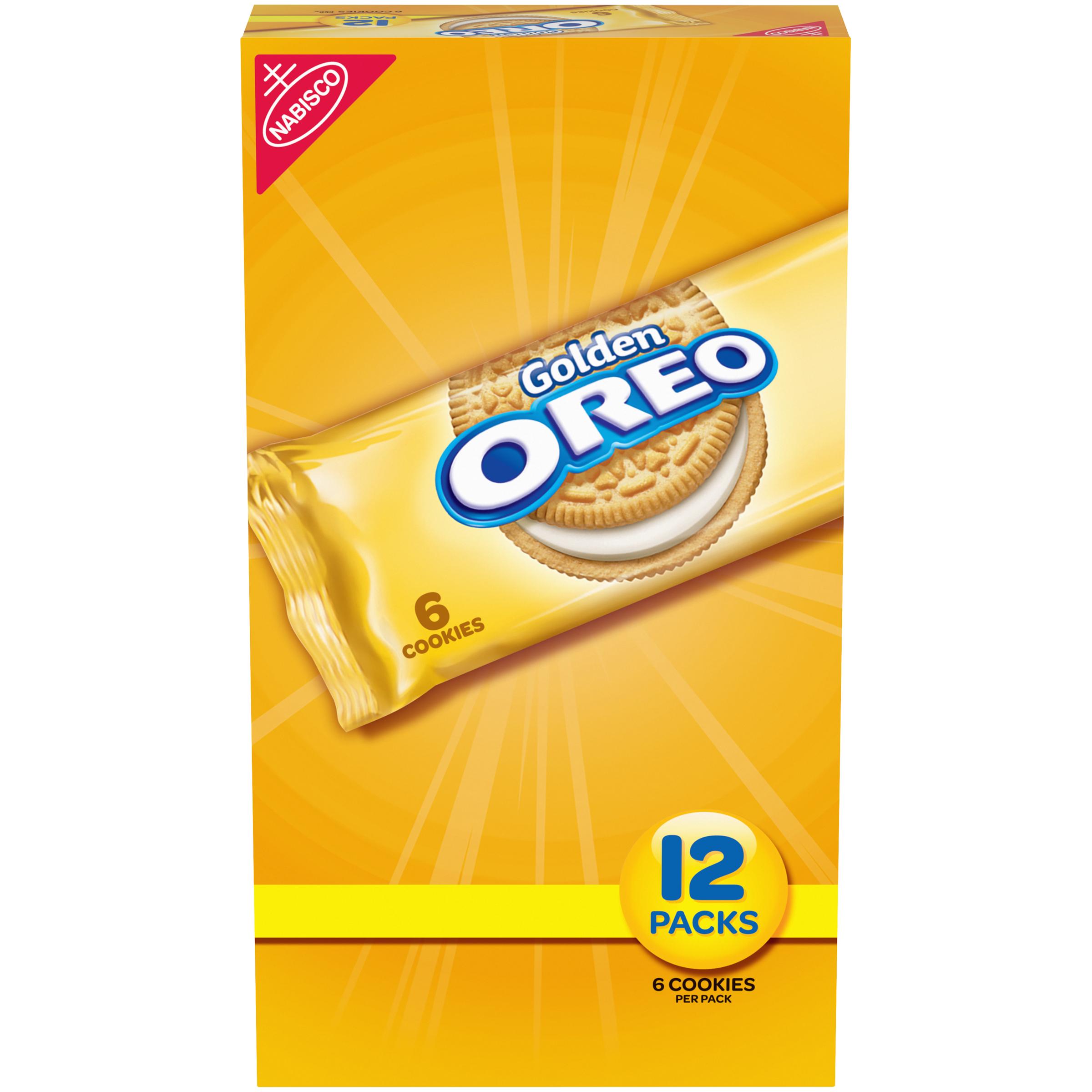 OREO Golden Oreo Cookies-Convenience Pack 28.8 oz