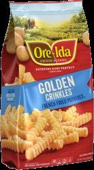 GOLDEN CRINKLES image
