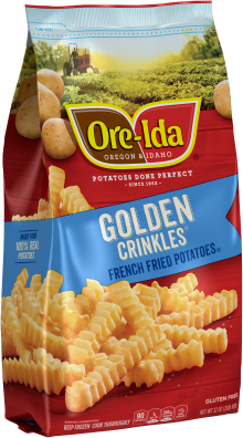 GOLDEN CRINKLES