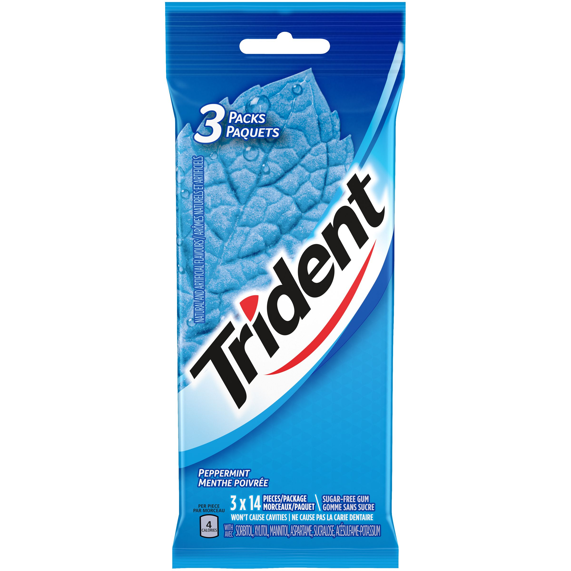 Trident Peppermint Gum 42 Count