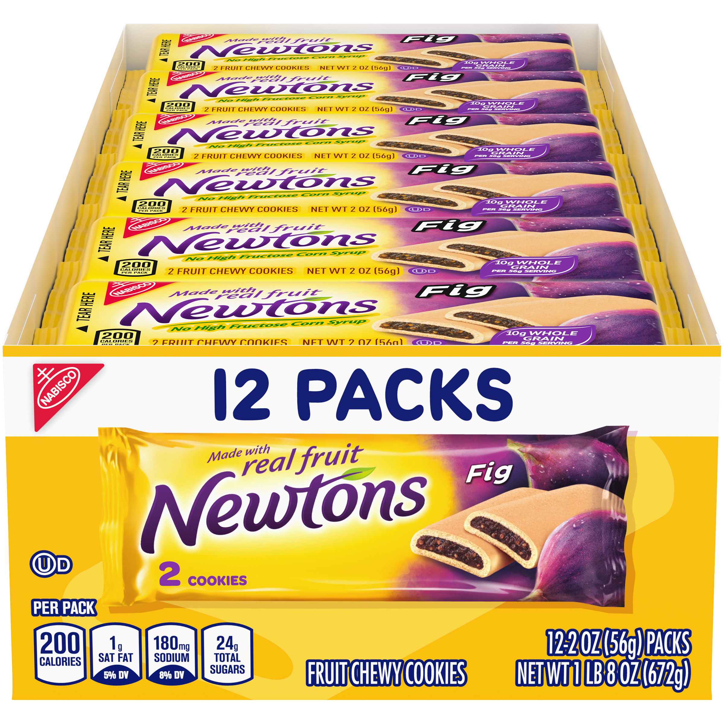NEWTONS Fig Lunchbox Cookies 1.5 lb