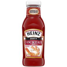 Heinz Zesty Cocktail Sauce, 12 oz Bottle image