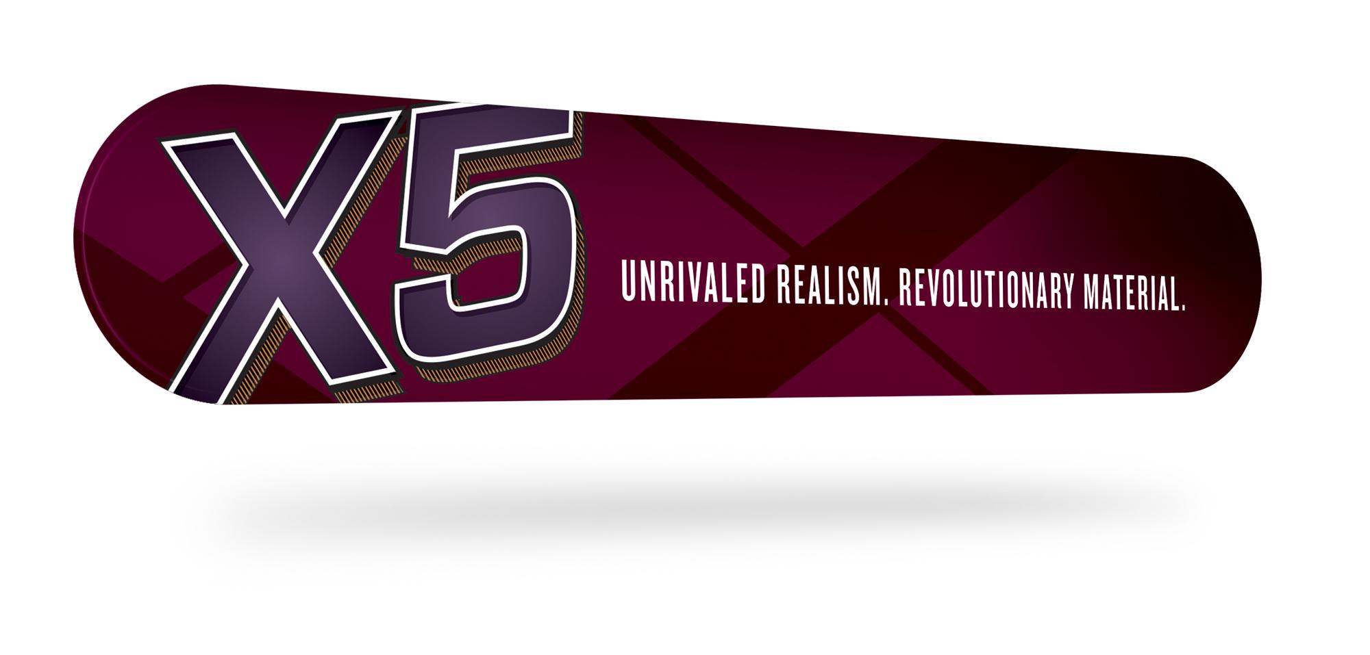 X5 - Slatwall Sign
