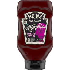 Heinz Memphis Style Sweet & Spicy BBQ Sauce, 20.4 oz Bottle image