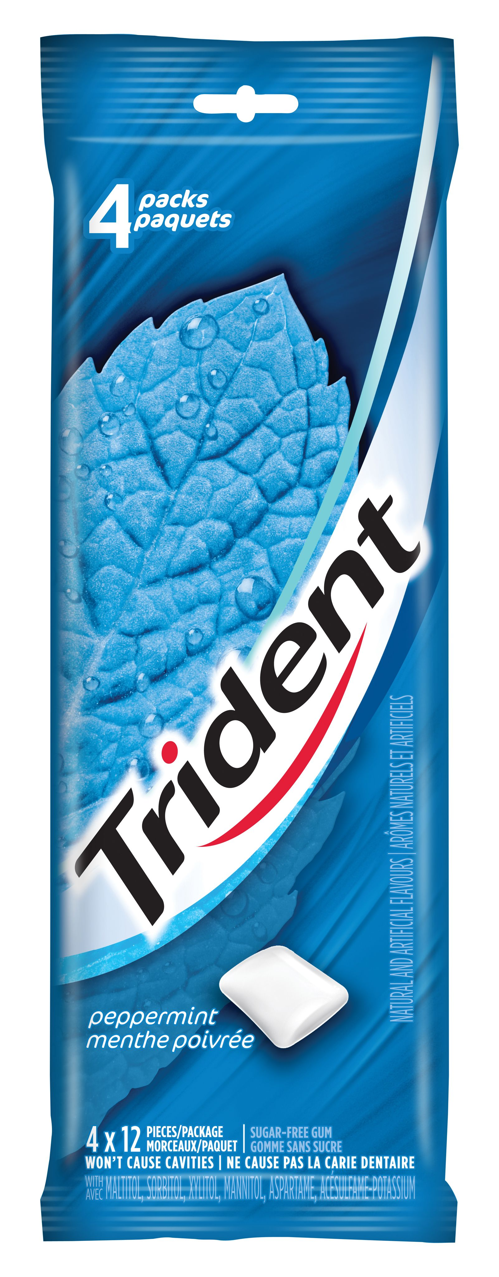 Trident Peppermint Gum 48 Count