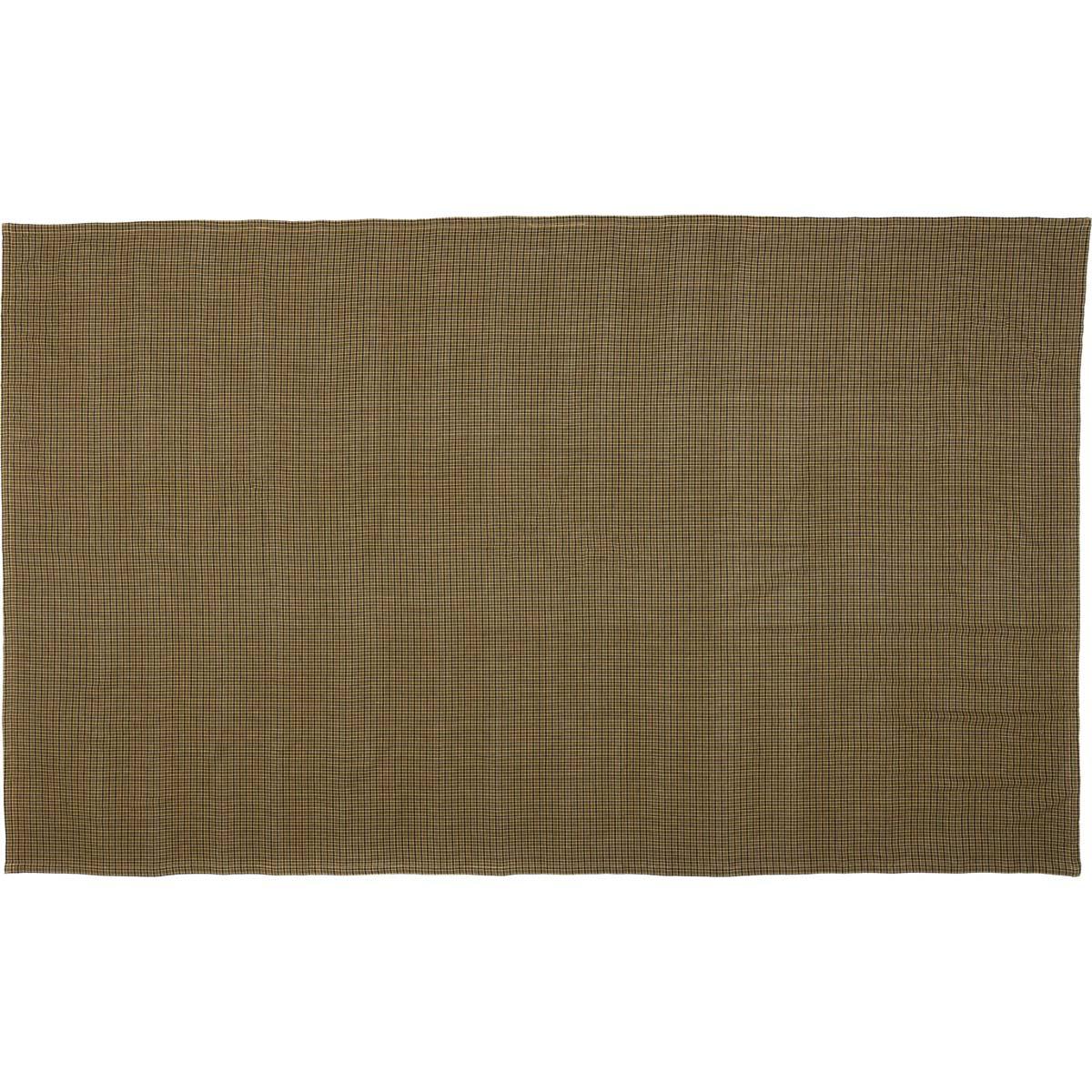 Tea Cabin Green Plaid Table Cloth 60x102
