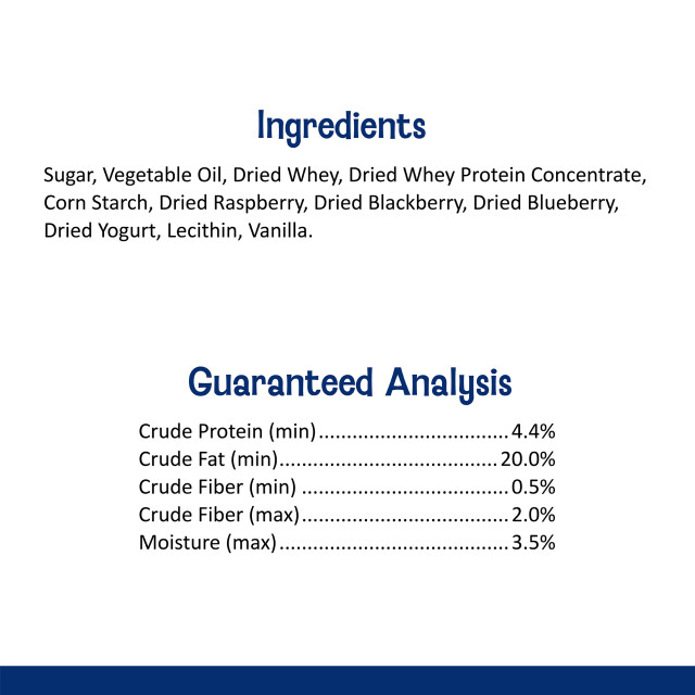 Nutrition-Image showing Drops with Wild Berry