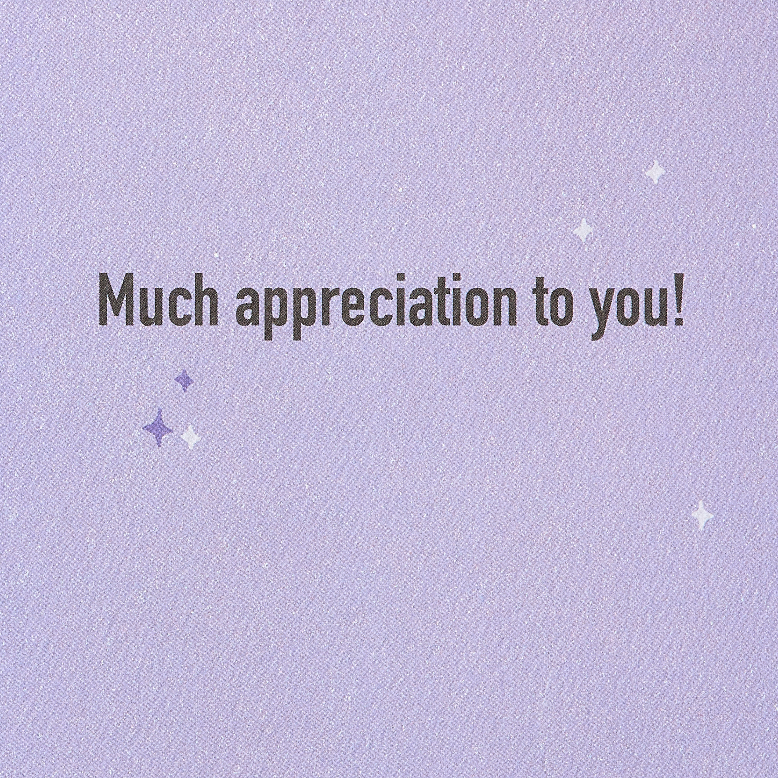Thanks Thank You Greeting Card image