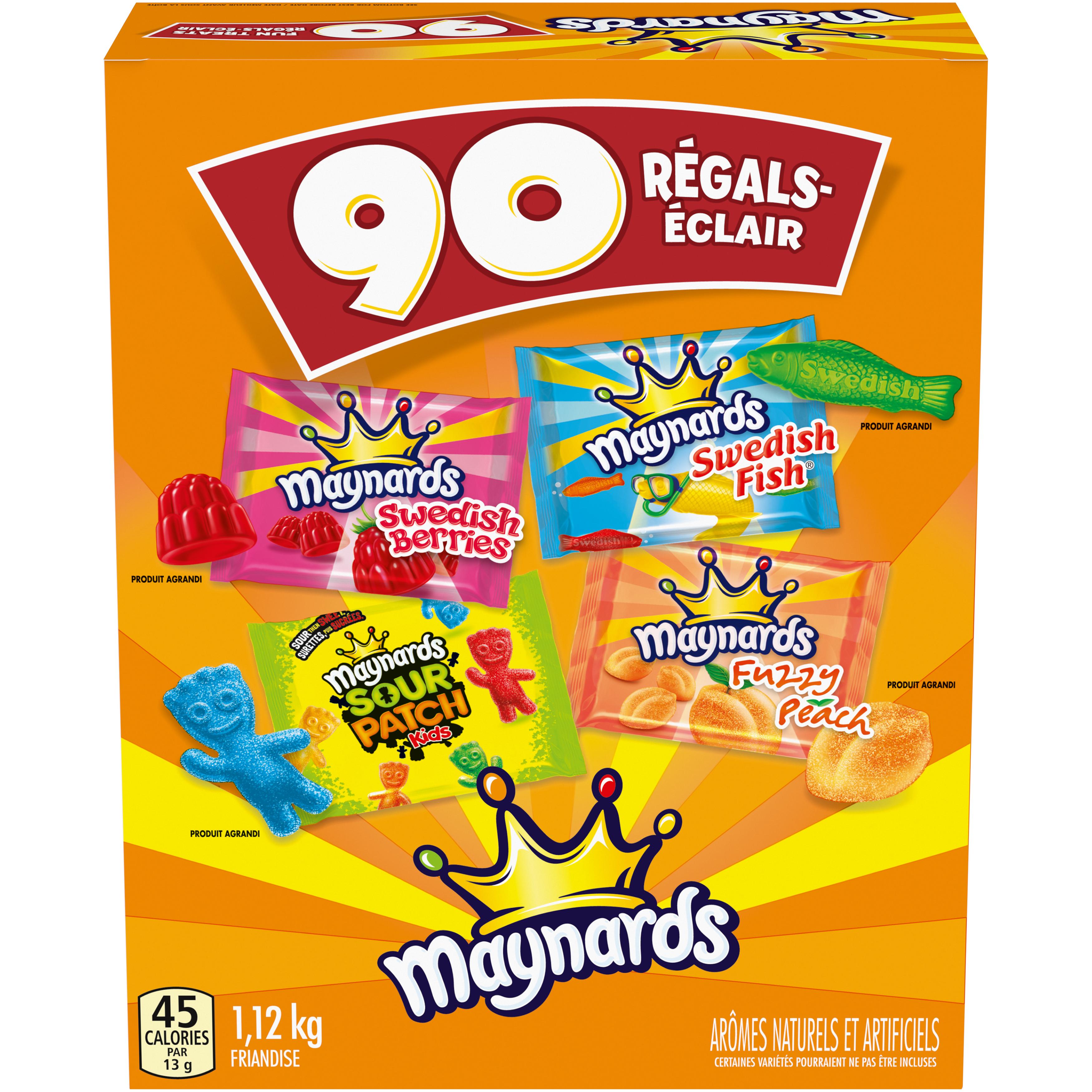 Maynards Marques Croisées Régals-Éclair Friandise Molle 1.12 KG