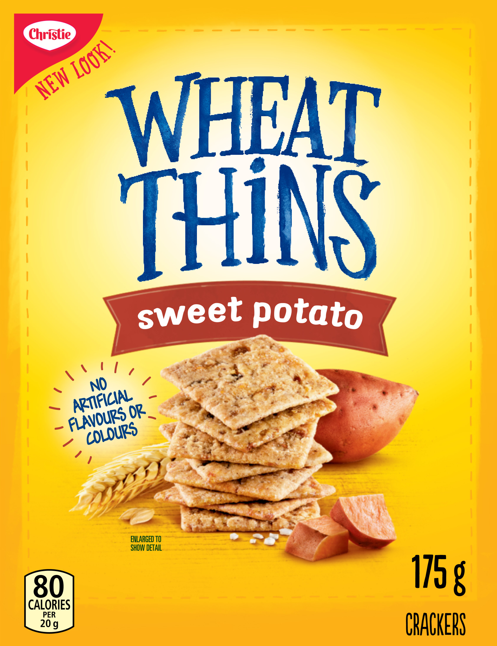 WHEAT THINS  PATATE DOUCE 175 GRM