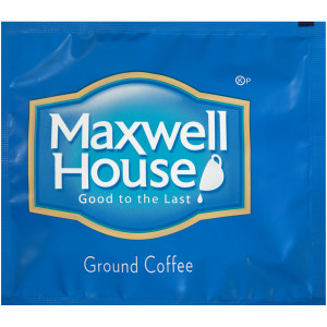 MAXWELL HOUSE Ground Coffee Filter Packs, 0.7 oz. Packets (Pack of 100) image
