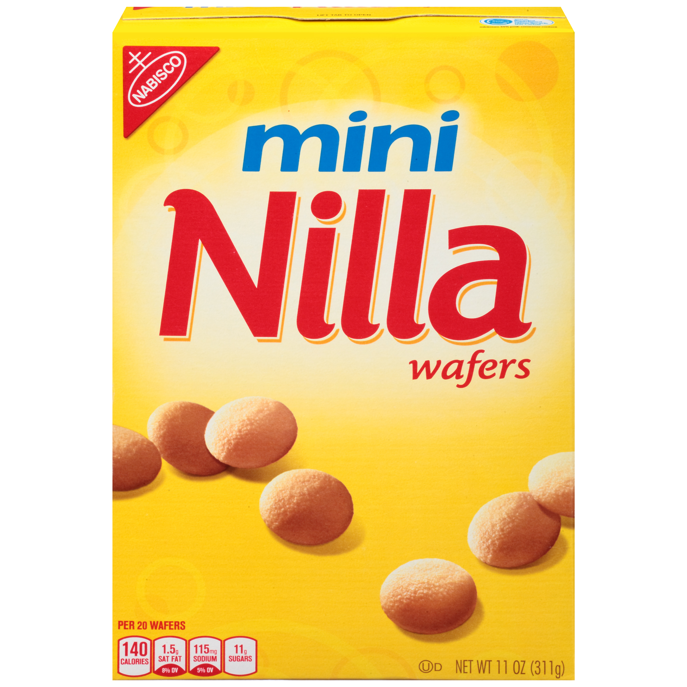 NILLA WAFERS Berry Delight Wafer Cookies, 11 oz Box
