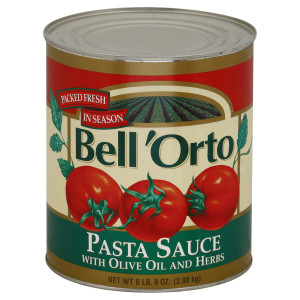 Bell 'Orto Pasta Sauce With Olive Oil & Herb 6 lb 9 oz Can image