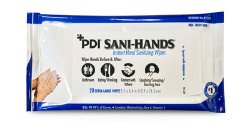 Sani-Hands Hand Sanitizing Wipe 20 Count Ethyl Alcohol Soft Pack, P71520 - Pack of 20