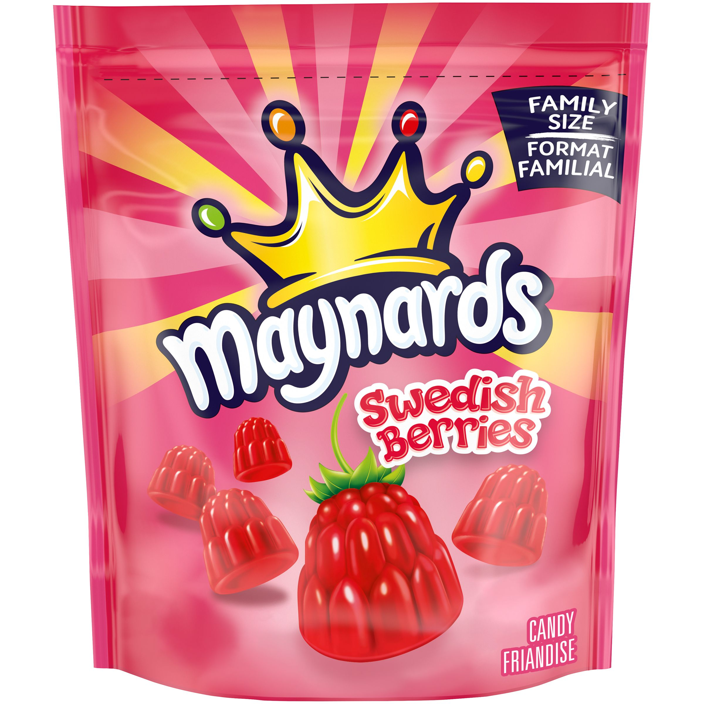 Maynards Swedish Berries Soft Candy 816 G
