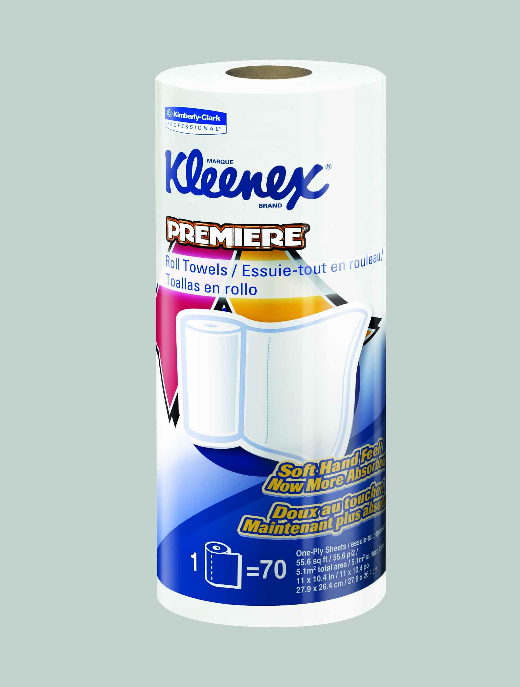 Kleenex Premiere Kitchen Paper Towel Roll 10-2/5 X 11 Inch, 13964 - Case of 24
