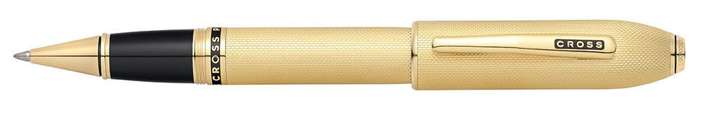 Peerless 125 23KT Gold Plated Rollerball Pen
