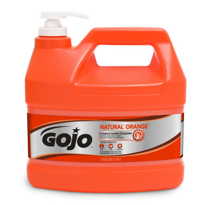 GOJO® NATURAL* ORANGE™ Pumice Hand Cleaner