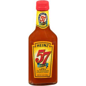 HEINZ 57 Sauce Bottle, 10 oz. Bottle (Pack of 12) image